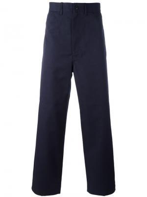 Широкие брюки Junya Watanabe Comme Des Garçons Man. Цвет: синий