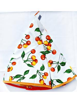 Полотенце Gabel 50х70 Вишня La Pastel. Цвет: белый, оранжевый