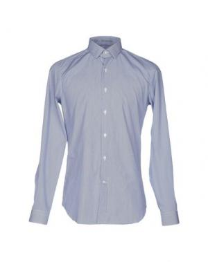 Pубашка VANGHER N.7. Цвет: синий