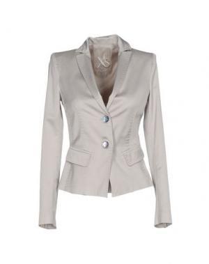 Пиджак X'S MILANO. Цвет: светло-серый