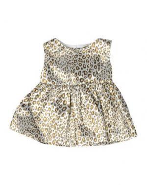 Платье MICROBE. Цвет: светло-серый