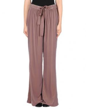 Повседневные брюки INTROPIA. Цвет: голубиный серый