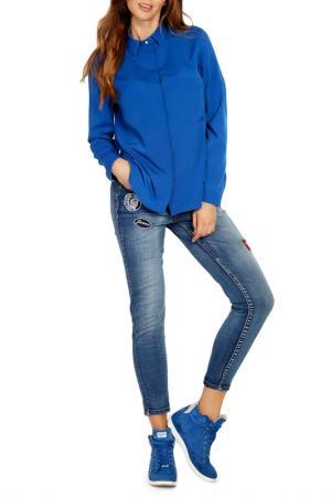 Рубашка LOU-LOU. Цвет: blue
