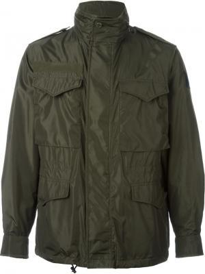 Куртка Danick Moncler. Цвет: серый