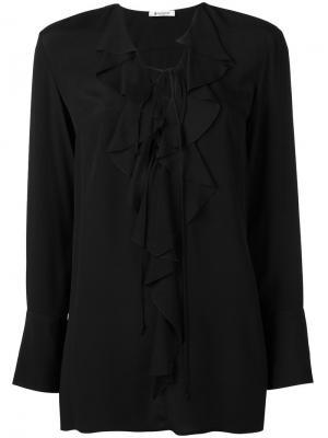 Блузка Bisa Dondup. Цвет: чёрный