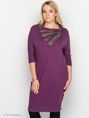 Платье МадаМ Т. Цвет: сиреневый