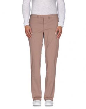 Повседневные брюки HAIKURE. Цвет: светло-коричневый