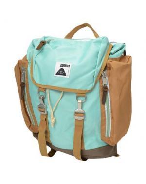 Рюкзаки и сумки на пояс POLER. Цвет: бирюзовый