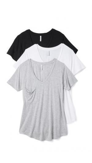 Z Supply. Цвет: черный/белый/серый