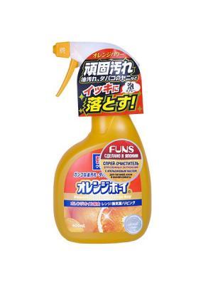 Funs  Orange Boy очиститель сверхмощный для дома с ароматом апельсина 400 мл. Цвет: оранжевый