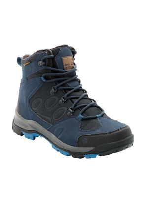 Ботинки COLD TERRAIN TEXAPORE MID M Jack Wolfskin. Цвет: синий