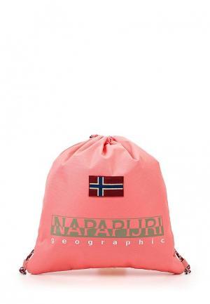 Мешок Napapijri. Цвет: розовый
