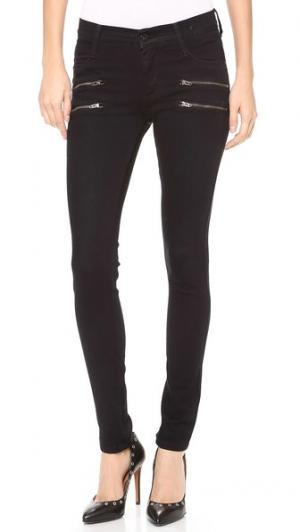 Джинсы скинни Crux с двойной молнией James Jeans. Цвет: олефина