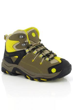 Ботинки Kimberfeel. Цвет: желтый