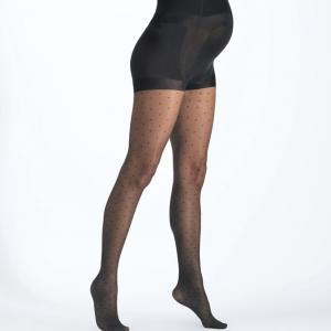 Колготки для периода беременности CACHE COEUR. Цвет: черный