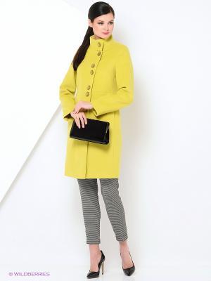 Пальто Electrastyle. Цвет: салатовый
