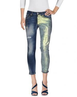Джинсовые брюки - -ONE > ∞. Цвет: синий