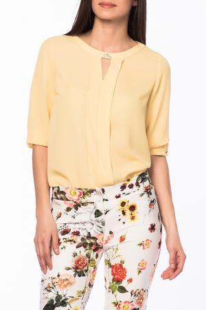 Блуза Duse. Цвет: желтый