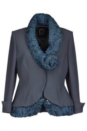 Blazer IVAN MONTESI. Цвет: gray, blue