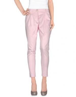 Повседневные брюки GAI MATTIOLO JEANS. Цвет: розовый