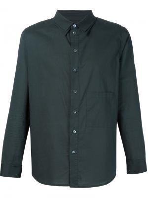 Рубашка с нагрудным карманом By Walid. Цвет: чёрный