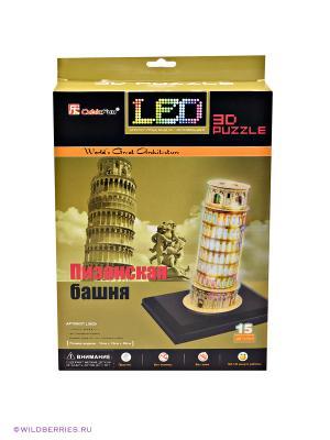 3D Пазл Пизанская башня CubicFun. Цвет: бежевый