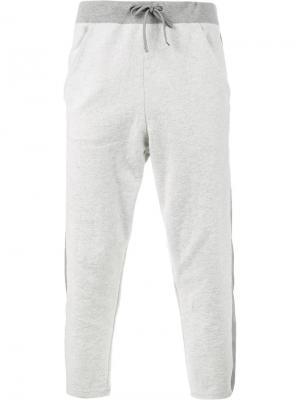 Спортивные брюки Lot78. Цвет: серый