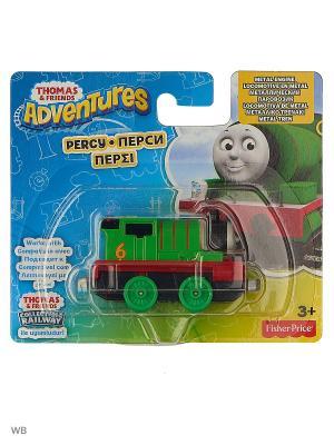 Железная дорога THOMAS & FRIENDS. Цвет: зеленый, красный