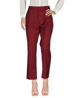 Повседневные брюки WOOD. Цвет: пурпурный