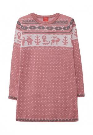 Платье Merri Merini. Цвет: розовый