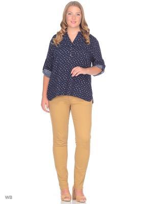 Блузка SARTORI DODICI. Цвет: индиго
