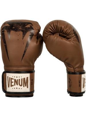 Перчатки боксерские Venum Giant Sparring Brown. Цвет: коричневый