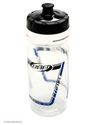 Бутылка для воды BBB. Цвет: прозрачный