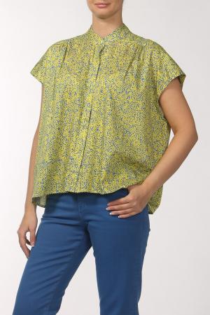 Блуза SALONI. Цвет: желтый