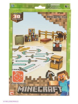 Игровой мир Предметы 30 деталей. Майнкрафт Minecraft. Цвет: зеленый