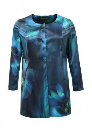 Пальто Fiorella Rubino. Цвет: синий