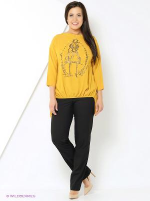 Блузка Brava Catalan. Цвет: желтый