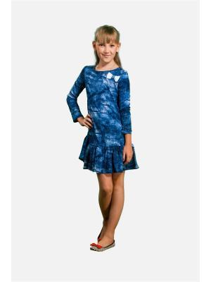 Платье Джинс L&K