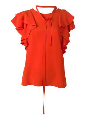 Блузка Fabulous Flow Dorothee Schumacher. Цвет: жёлтый и оранжевый