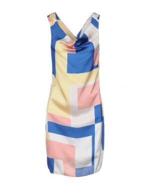 Короткое платье H2O ITALIA. Цвет: синий