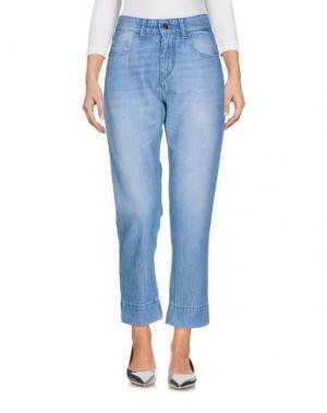 Джинсовые брюки JOHN GALLIANO. Цвет: синий