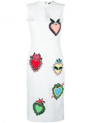 Платье Heart House Of Holland. Цвет: белый