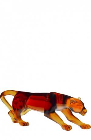 Статуэтка Panthere Panther Daum. Цвет: бесцветный