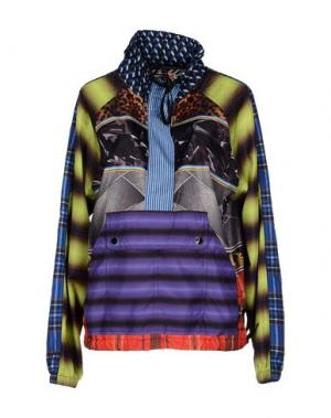 Куртка BASSO & BROOKE. Цвет: кислотно-зеленый