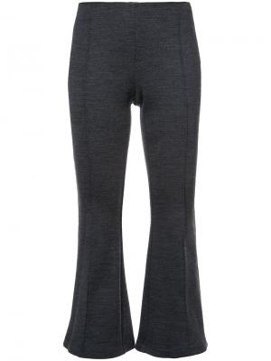 Укороченные брюки Rosetta Getty. Цвет: серый