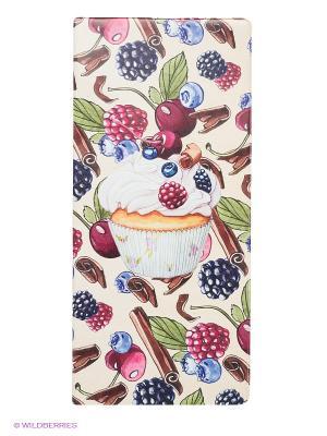 Обложка для путешествия Cupcake Kawaii Factory. Цвет: молочный, бордовый