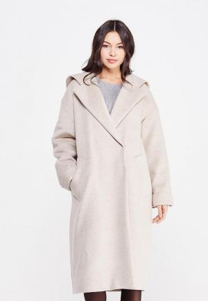 Пальто Maria Golubeva. Цвет: бежевый