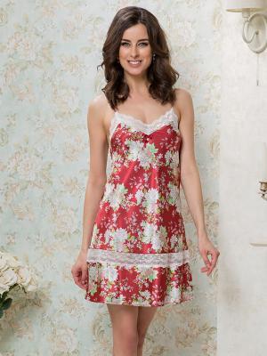 Сорочка MIA-MELLA. Цвет: терракотовый