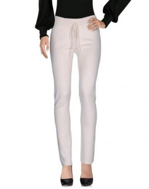 Повседневные брюки BE YOU by GERALDINE ALASIO. Цвет: белый