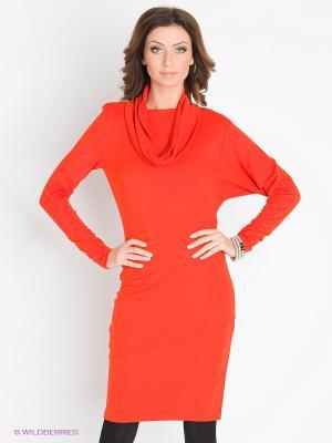 Платье Charuel. Цвет: оранжевый